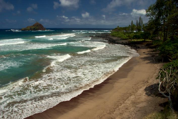 Alau Island on the eastern side of Maui