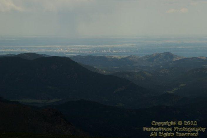 Denver from 14,000 feet