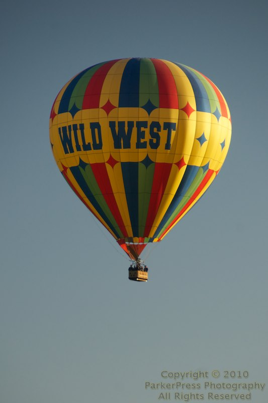 Day 2 begins with the pilot balloon