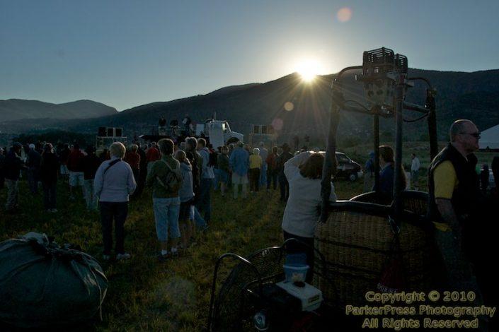 Day 2 - Sunrise over the Mt. Werner