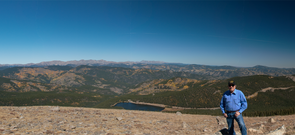 Mt. Evans Panorama - Looking North West