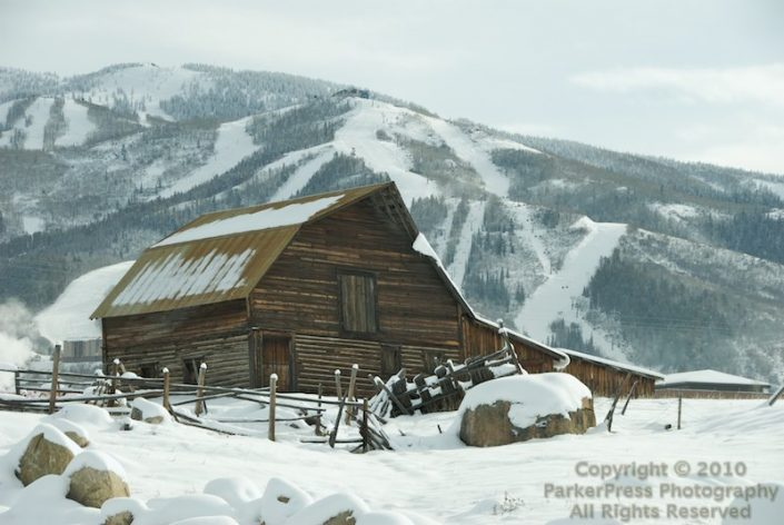 """The """"Famous"""" Steamboat Barn"""