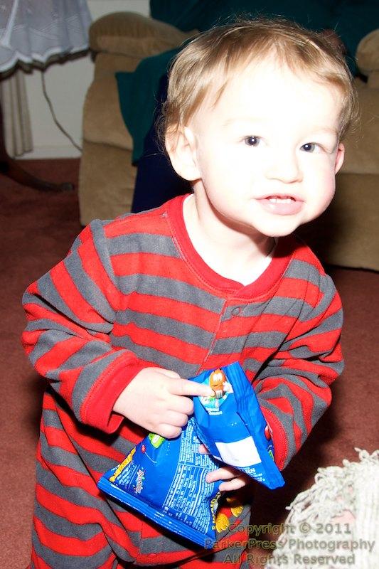 Cameron on Christmas Day