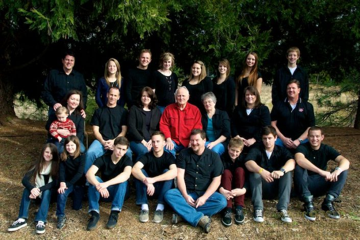The entire Parker Clan