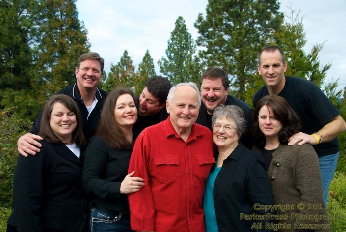 The 1st and 2nd Generation with spouses