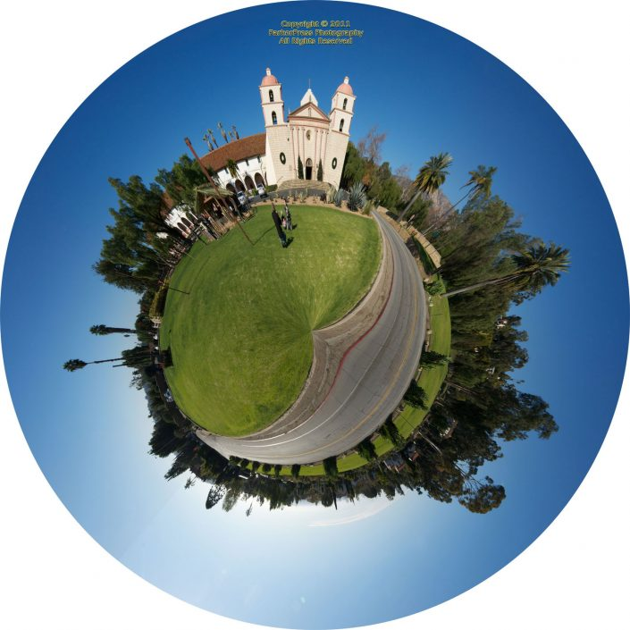 Santa Barbara Mission - #1