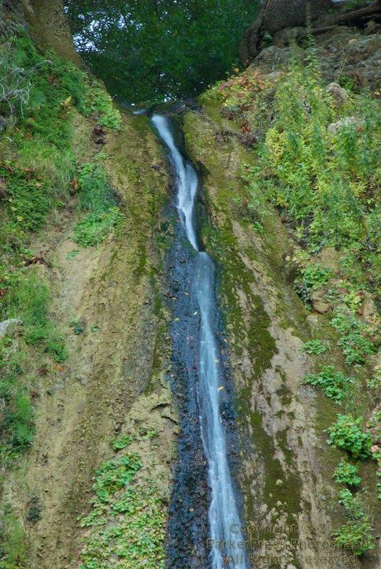 The top of Nojoqui Falls