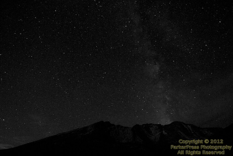 Milky Way at Summit Lake