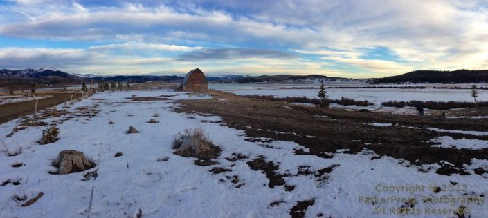 iPhone Pano of Steamboat Lake Barn