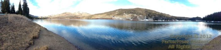 iPhone pano of Pearl Lake